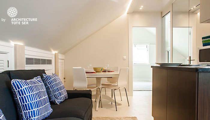 2 Bedroom Duplex Apartment in Chiado
